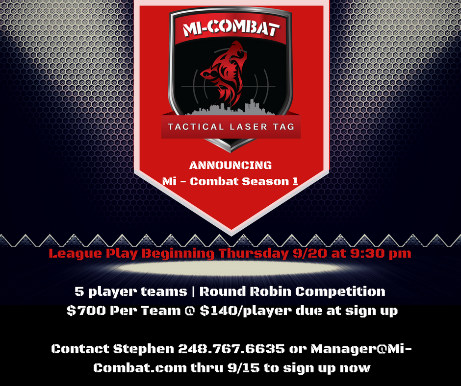 Fall League:  Sign up Now